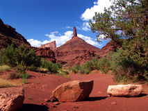 Landscape view UTAH - USA. Beautiful Landscape in UTAH - USA Royalty Free Stock Images