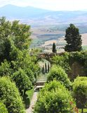 Val d'Orcia landscape royalty free stock photo