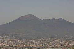 Landscape view of the Vesuvio Stock Photography