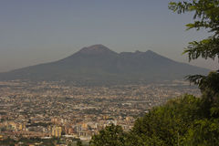 Landscape view of the Vesuvio Stock Photo