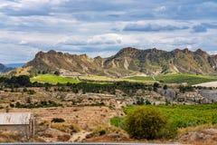 Landscape view of Villanueva near Murcia in Spain royalty free stock photos