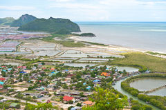 Landscape viewpoint in thailand Royalty Free Stock Images