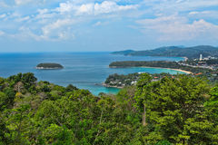Landscape, views of Kata Beach Royalty Free Stock Photos