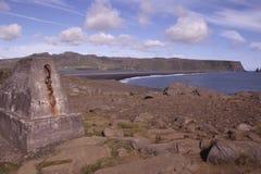 Landscape in Vik Iceland Royalty Free Stock Images