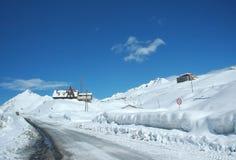 landscape vintern Arkivfoto