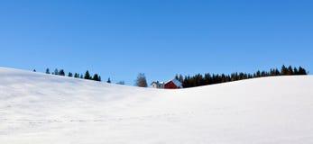 landscape vintern Arkivbild