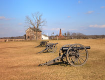 Landscape Virginia Manassas Battlefield Stock Image