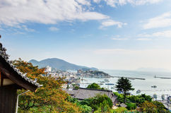 Landscape visible from Ioji Temple royalty free stock photos