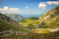 Landscape in Visitor Mountains Royalty Free Stock Photography