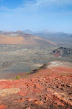 Landscape from volcanic mountain Royalty Free Stock Photo