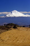 Landscape with volcano Stock Photography