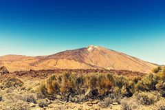 Volcano Teide. Tenerife Canary Islands Royalty Free Stock Photos