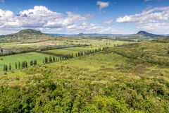 Landscape at volcanoes Royalty Free Stock Photo