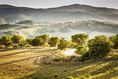 Landscape Volterra Royalty Free Stock Image