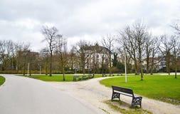 Landscape of Vondelpark Amsterdam Holland Stock Photos