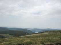 Landscape in the Vosges and Ballon d'Alsace Royalty Free Stock Image