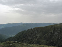 Landscape in the Vosges and Ballon d'Alsace Stock Photography