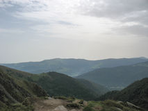 Landscape in the Vosges and Ballon d'Alsace Stock Photos