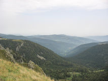 Landscape in the Vosges and Ballon d'Alsace Royalty Free Stock Photography