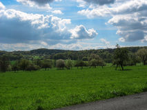 Landscape in the Vosges Royalty Free Stock Image