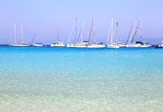 Voutoumi beach Antipaxos island Greece Royalty Free Stock Image