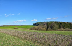 Landscape in Walloon Stock Photography