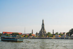 Landscape of Wat Arun Stock Photos