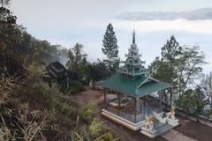 Landscape at Wat Phra That Doi Kong Mu Stock Photos
