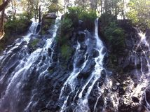 Bridal Veil waterfall, Avandaro, Mexico Stock Image