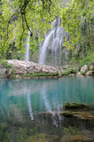 Landscape with waterfall Royalty Free Stock Photography