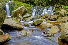 Landscape waterfall Stock Photography