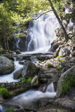 Landscape with waterfalls Royalty Free Stock Photos