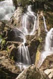 Landscape with waterfalls Royalty Free Stock Image