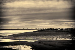 Landscape, Waterfoot, Solway firth, Lakedistrict hills Stock Photography