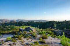 Landscape, way to Poço Azul, National Park of Peneda-Geres, Portugal. Landscape, way to Poço Azul, National Park of Peneda-Geres, north Portugal stock photography