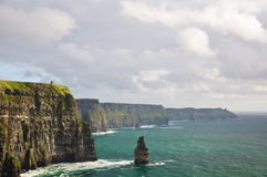 Landscape from the west coast ireland Royalty Free Stock Image