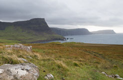 Landscape at West coast of Scotland Royalty Free Stock Image