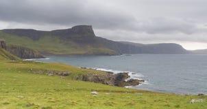 Landscape at West coast of Scotland Stock Photos