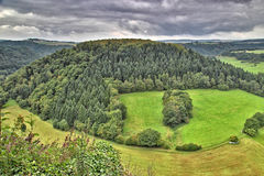Landscape in West Germany Royalty Free Stock Photography