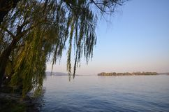 Landscape of West lake in Hangzhou, China Stock Images