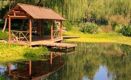 Landscape of West lake. Hangzhou. China. Royalty Free Stock Photos