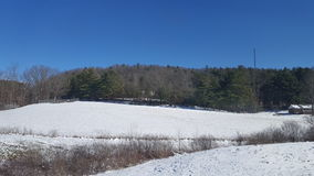 Landscape of West Virginia Stock Image