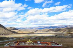 Landscape of western sichuan plateau Royalty Free Stock Image