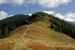 Landscape of Western Tatras Stock Photos