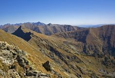 Landscape of Western Tatras stock images