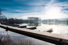 Landscape whit Lifebuoy Stock Photography