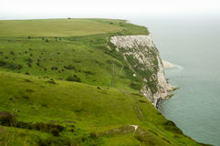 Landscape of White Cliffs of Dover Royalty Free Stock Image