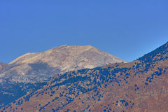 Landscape of the White Mountains Royalty Free Stock Image