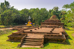 Landscape with Wiang Kum Kam, The ancient city near Chiang Mai, Thailand Royalty Free Stock Image
