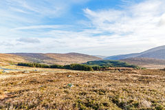 Landscape of Wicklow mountains Stock Images
